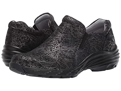 Nurse Mates Dorin (Black Metallic Swirls) Women
