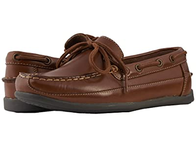 Florsheim Kids Jasper Tie Jr. (Toddler/Little Kid/Big Kid) (Saddle Tan) Boy