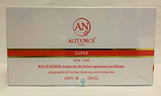 Alitenice Paris SUPER ANTI-BACTERIOL Regenerate Purified Soothing Lotion Ampoules (3ml x 7 dose)