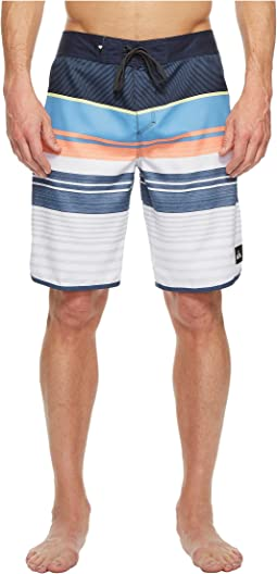 "Eye Scallop 20"" Boardshorts"