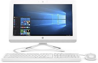 HP 20 اینچی همه در یک رایانه ، اینتل Celeron J4005 ، 4 گیگابایت رم ، هارد دیسک 1TB ، ویندوز 10 (20-c410 ، سفید)