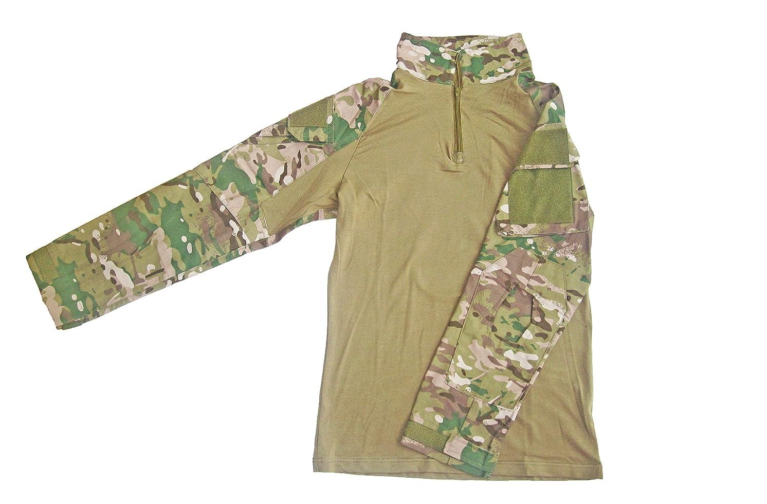 十分ではないドリンク銅DLP Tactical Gen 3長袖Combatシャツ