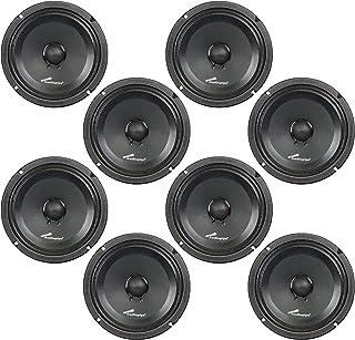 "Audiopipe 8"" 250W Low Mid Frequency Midwoofer Car Audio Loudspeaker Set (8 Pack) photo"