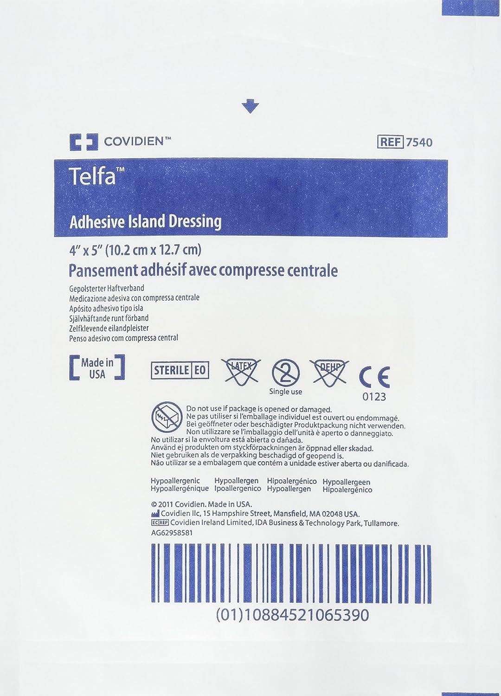 7540 Financial sales sale Dressing Telfa Island Max 67% OFF Wound LF Gauze Adhesive White 4x5
