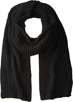 Cable Knit Mock Neck Scarf