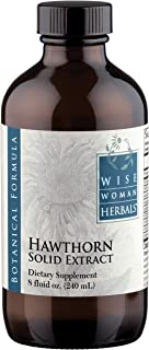 Wise Woman Herbals – Hawthorn Berry Extract Liquid - Extra Strength 4:1 Extract - Alcohol-Free - for Cardiovascular Health...