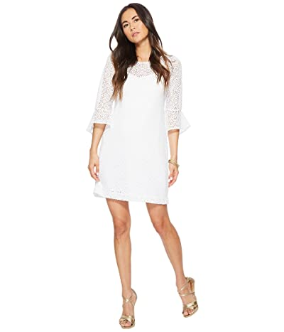 Lilly Pulitzer Fontaine Dress (Resort White Gypsea Lace) Women