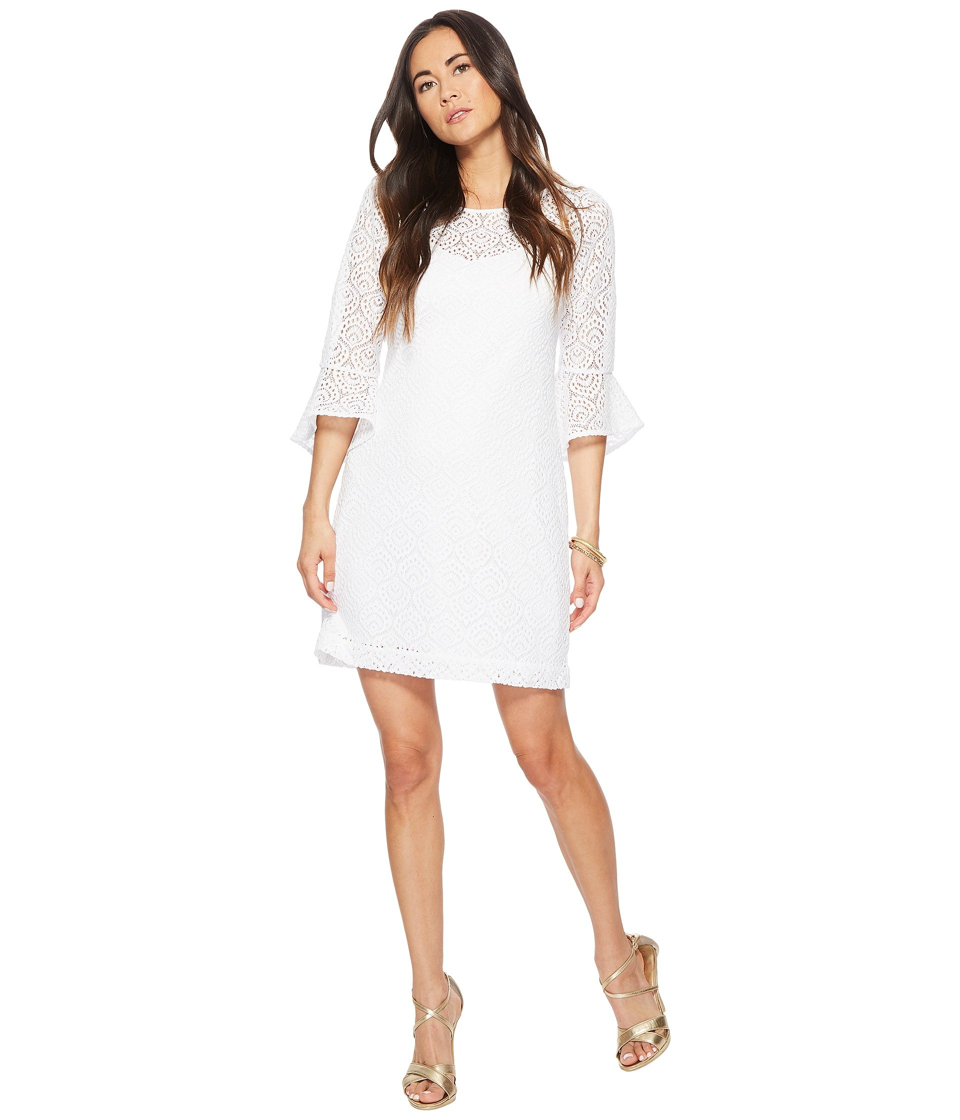 Dresses, White, Women | Shipped Free at Zappos