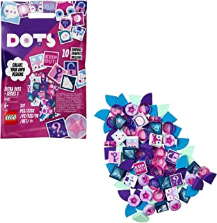 LEGO 41921 DOTS Extra DOTS Series 3 Tile Pack, Jewellery DIY Craft Set with 10 Surprise Charms