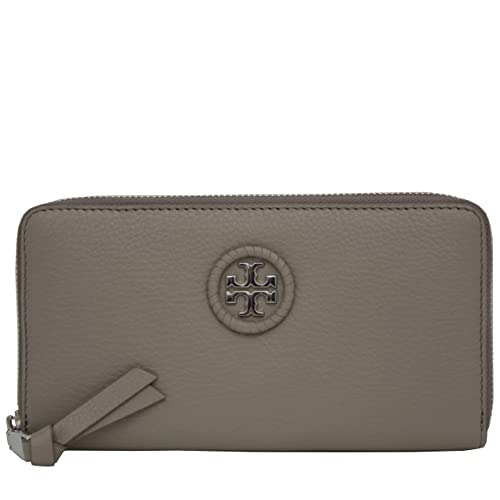 4dd6363248008 Tory Burch Wallet Zip Around Wallet Whipstitch TB Logo Leather