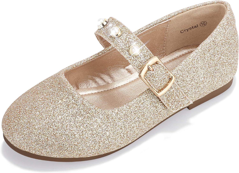 PANDANINJIA Girl's Toddler Little Kid Dress Samantha Flats 5% Baltimore Mall OFF Shoes