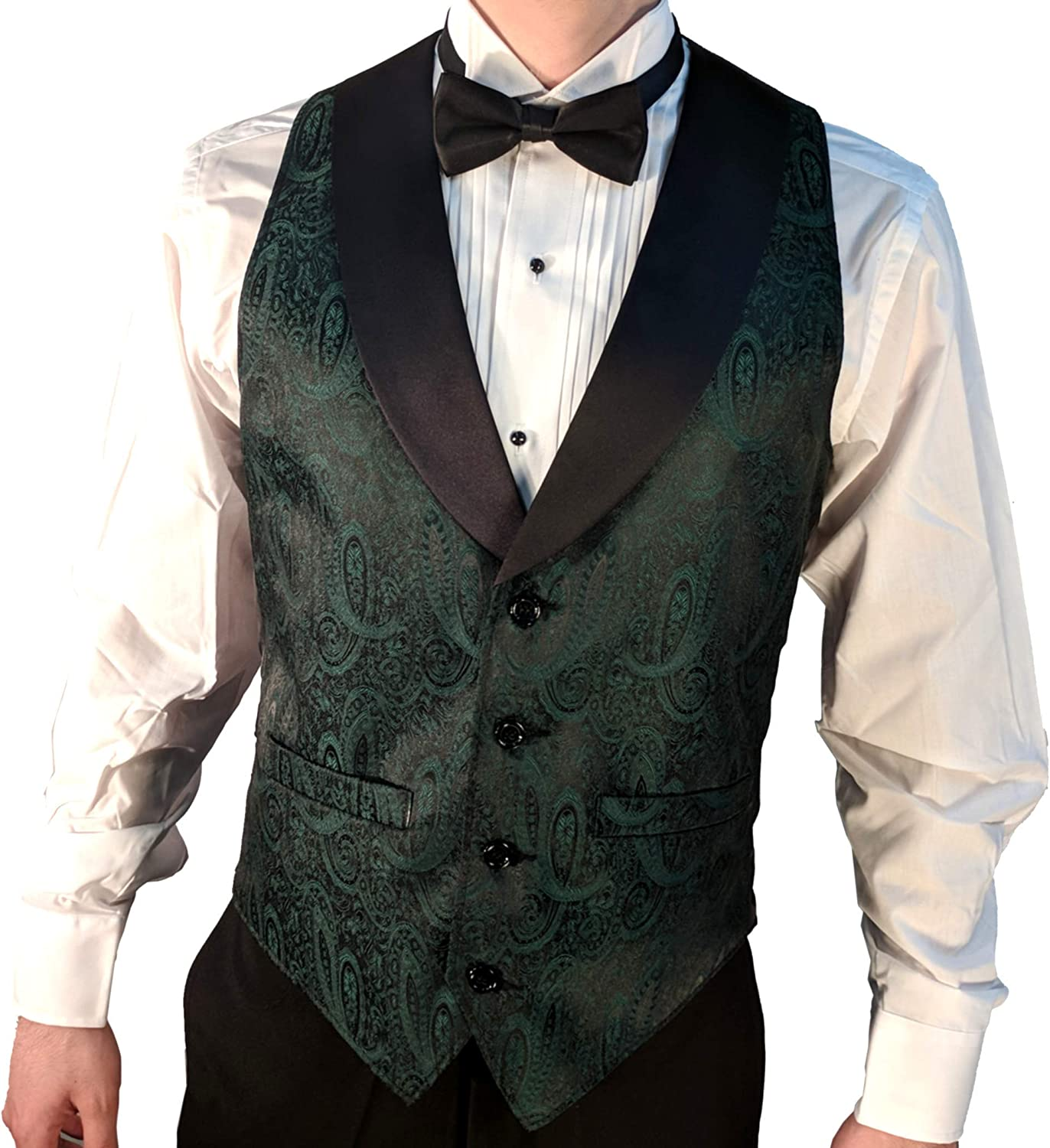 Mens suit vests green tarchon private investments global