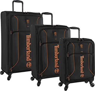 Timberland 3 Piece Lightweight Spinner Luggage Suitcase Set