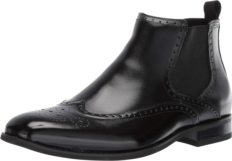 STACY ADAMS Men's Iverson Wingtip Chelsea Boot