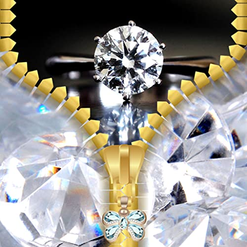 Diamant-Zipper Lock Screen