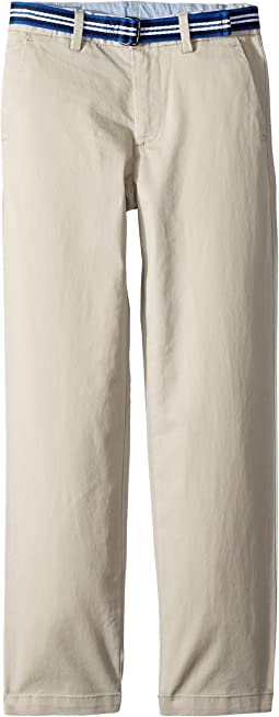 Belted Stretch Skinny Chino (Little Kids)