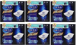 Unicharm Silcot Uruuru Sponge Facial Cotton 40 Sheets (6)
