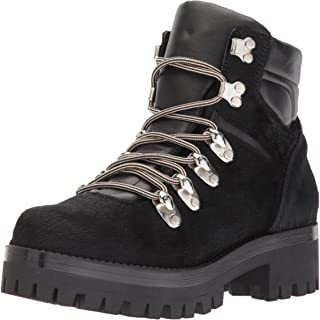 Shellys London Women's Tulle Combat Boot
