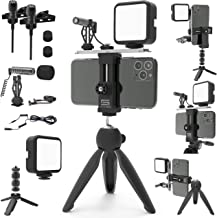 DREAMGRIP Scout MOJO Modular Rig Kit 2020 with 3 Microphones, LED Light and All-in Accessories Set for PRO Video Production with Any Smartphone for Journalists, Vloggers, Youtubers, and Movie Makers