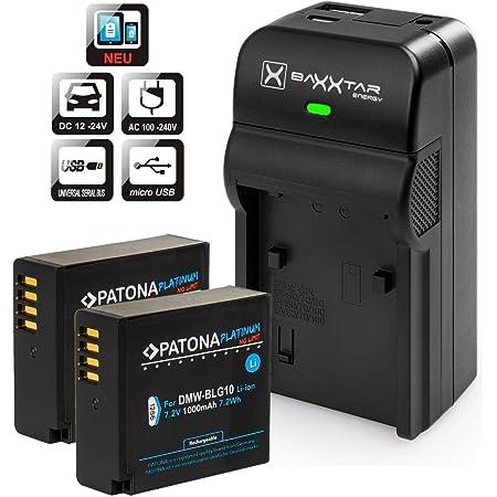 Patona Platinum Ersatz Für Akku Panasonic Dmw Blg10 Kamera