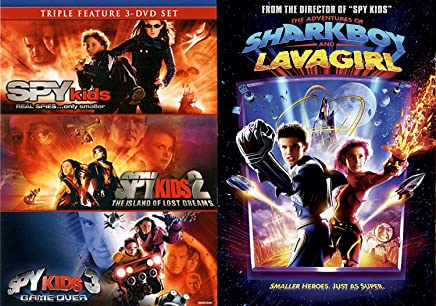 Amazon Com Sharkboy And Lavagirl Movie
