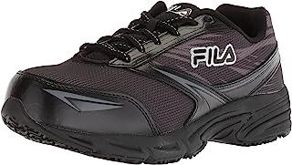 Women's Memory Reckoning 8 Slip Resistant Steel Toe Running Shoe Food Service