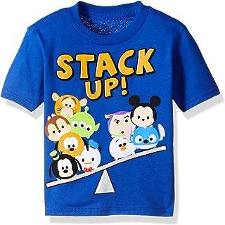 Toddler Boys' Tsum Stack up Short Sleeve T-Shirt