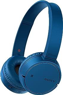 Sony 索尼 WH-CH500 无线蓝牙NFC蓝牙耳机,20小时电池续航时间 - 蓝色