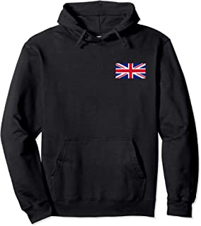 United Kingdom Flag British Union Jack UK Flags Men Women Pullover Hoodie
