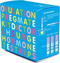 PREGMATE 100 Ovulation Test Strips LH Surge Predictor Kit (100 LH)