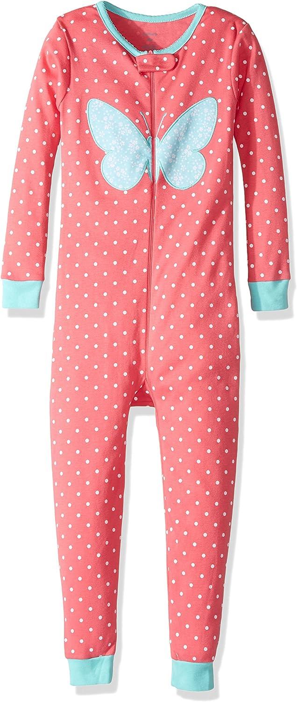 Carter's Little Girls' 1-Piece Snug Fit Cotton Footless Pajamas