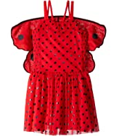 Stella McCartney Kids - Bonny Ladybug Sleeveless w/ Detachable Wings Dress (Toddler/Little Kids/Big Kids)