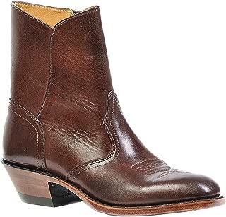 Men's Western Dress Side Zip Cowboy Boot Round Toe - 1118