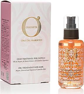 BAREX | Oro del Marocco Olio Trattante Riparatore | Olio per capelli danneggiati | Azione idratante, nutriente e disciplin...