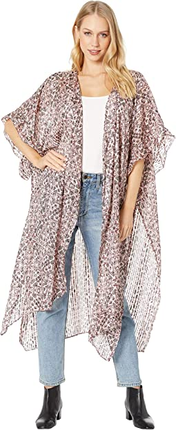 Kaleidoscope Floral Ruffle Duster