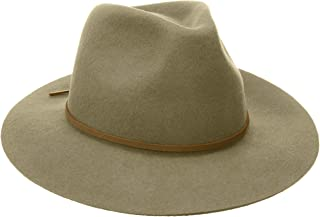 قبعة فيدورا من نسيج اللباد متوسط الحافة ويسلي للرجال من بريكستون