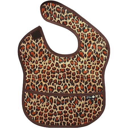 2 Sizes Handmade Baby Bib-Cheetah Print