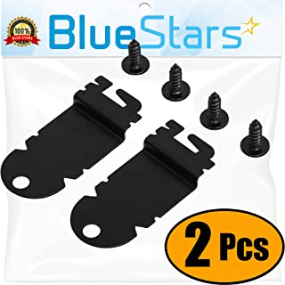 Ultra Durable 8212560 Dishwasher Side Mounting Bracket Replacement Kit by Blue Stars - Exact Fit For Whirlpool & Kenmore Dishwashers - Replaces 1201084 AP3953705 - PACK OF 2