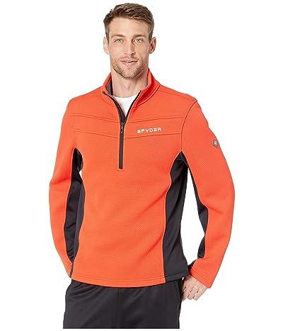 Spyder Encore 1/2 Zip Fleece Jacket (Volcano) Men