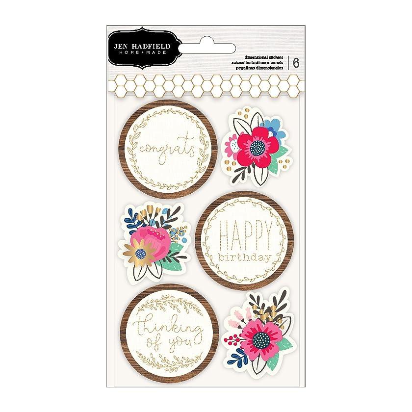 Jen Hadfield 733883 Stickers, Multicolor
