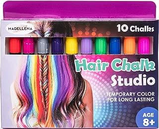 Christmas Gift for Girls 2019 - Hair Chalk For Girls, Unicorn Hair, Hair Dye for Kids, Birthday Gifts for Girls, Girl Gifts, Temporary Hair Color for kids, Hair Chalk Pens 80 Applications