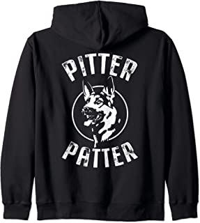 Funny Pitter T Shirt Patter Arch logo Zip Hoodie