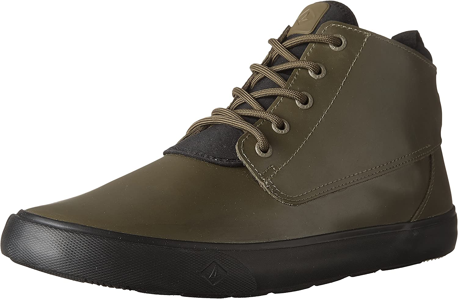 Sperry Mens Cutwater Chukka Rubber Ankle Boots