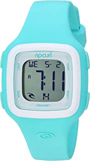 Rip Curl Women's Candy Quartz Sport Watch with Silicone Strap, Green, 17 (Model: A3126G-MNW)