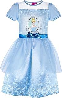 Disney Ragazze Vestito Ufficiale Minnie Mouse Blu