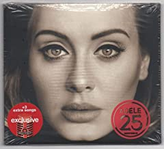 Adele - 25 Exclusive with +3 extra songs (Audio CD)