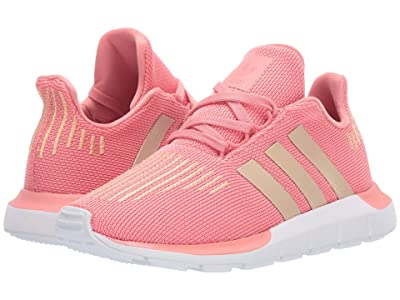 adidas Originals Kids Swift Run C (Little Kid) (Tactile Rose/Copper/Black) Girls Shoes