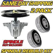 (2 Pack) MTD, Huskee, Deck Spindle Bearings Rebuild Kit LT4200, LT4216, CB30 - HD Switch