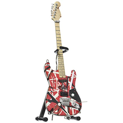 EVH Minature Guitars EVH Frankenstein Mini Replica Guitar Van Halen EVH001