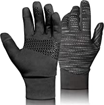 Winter Gloves Touch Screen Cycling Gloves Black Bicycle Gloves Anti Slip Full Finger Riding Sports Bicycling Gloves